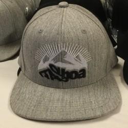 casquette réglable grise