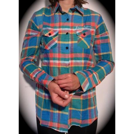 Chemise à carreau