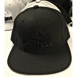 casquette réglable full black